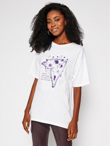Local Heroes T-Shirt What Stars Say AW2021T0003 Biały Oversize 99.00PLN