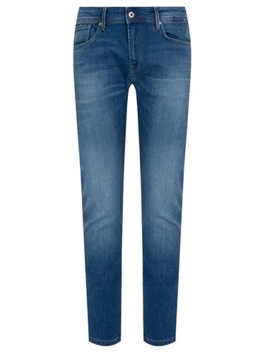 Pepe Jeans Jeansy Tapered Fit Stanley PM201705HB6 Niebieski Tapered Fit 219.00PLN