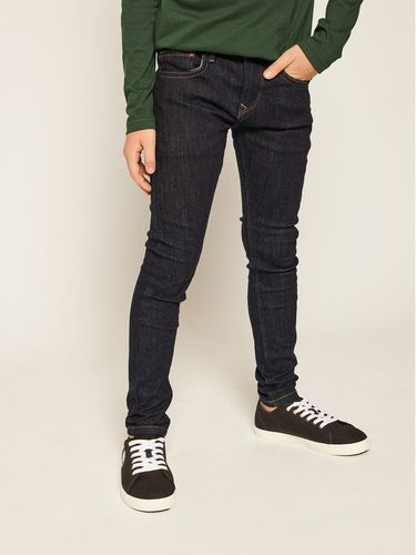 Pepe Jeans Jeansy Finly PB200527 Granatowy Skinny Fit 119.00PLN