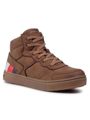 Tommy Hilfiger Sneakersy High Top Lace-Up Sneaker T3B4-30926-1030520 S Brązowy 249.00PLN