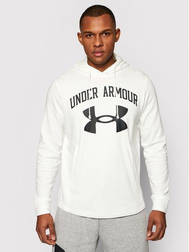Under Armour Bluza Rival Terry Big Logo 1361559 Biały Loose Fit 249.00PLN