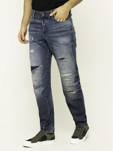 G-Star Raw Jeansy Tapered Fit Arc 3D D09132-B988-A944 Granatowy Relaxed Tapered Fit 399.00PLN