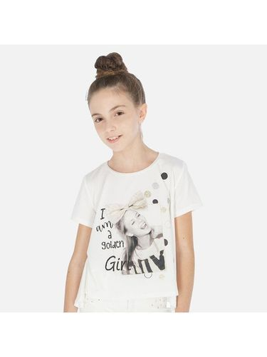 Mayoral T-Shirt 6009 Beżowy oversize 49.00PLN